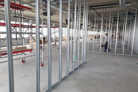 Metal Stud Wanden Constructie