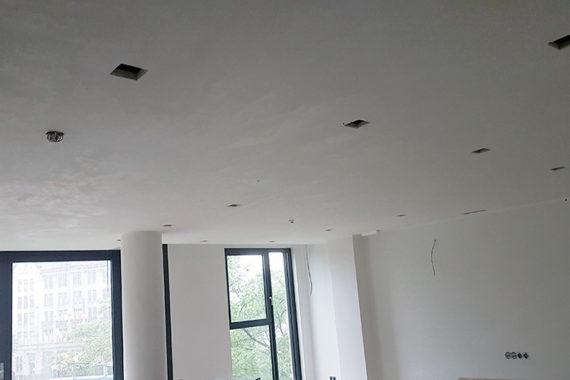 Plafond verlagen duurste appartement Amsterdam