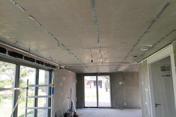 Snelhangers Verlaagd Plafond Project Villa Ter Aar