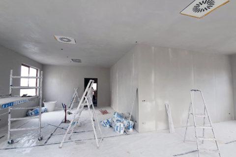 Stucwerk Wanden en Plafond