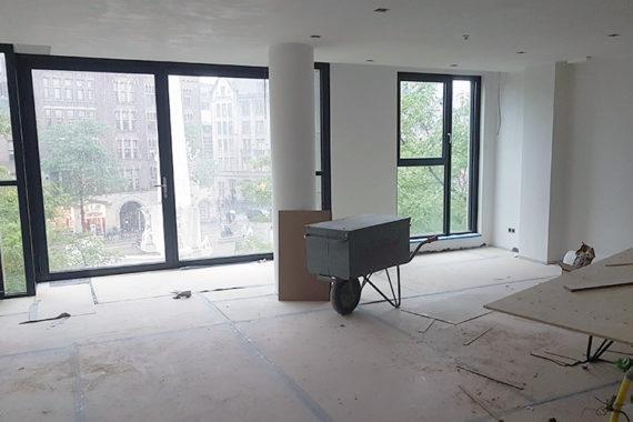 Werkzaamheden duurste appartement Amsterdam