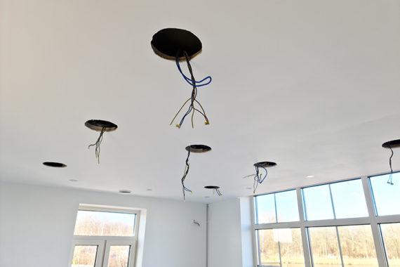 Luidsprekers Verlaagd Plafond Totaal Afbouw
