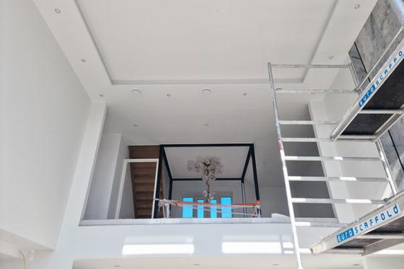 Verlaagd Plafond Woonkamer Totaal Afbouw Nieuwbouw